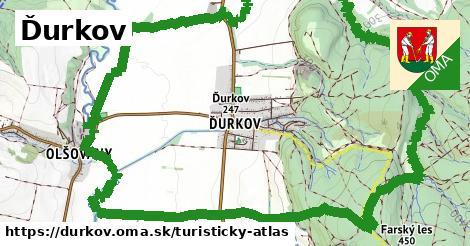 ikona Turistická mapa turisticky-atlas  durkov