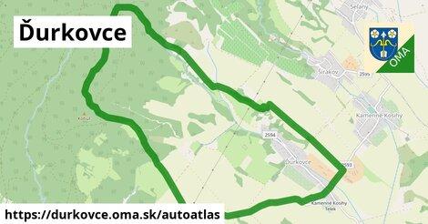 ikona Mapa autoatlas  durkovce