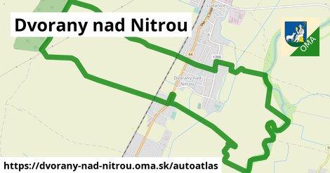 ikona Mapa autoatlas  dvorany-nad-nitrou