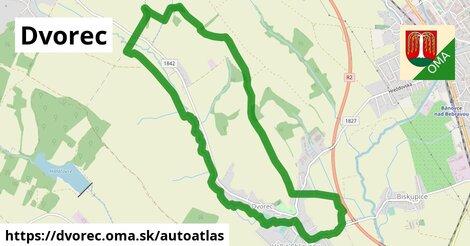 ikona Mapa autoatlas  dvorec