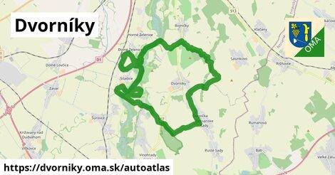 ikona Mapa autoatlas  dvorniky