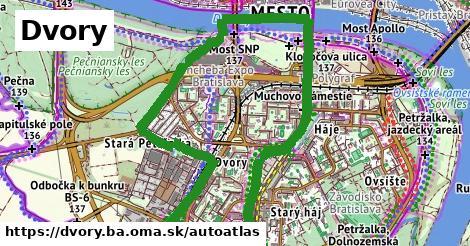 ikona Mapa autoatlas  dvory.ba