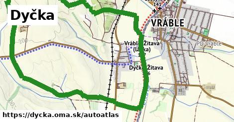 ikona Mapa autoatlas  dycka