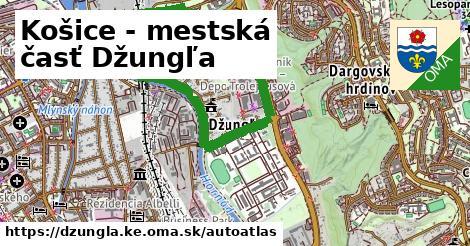 ikona Mapa autoatlas  dzungla.ke