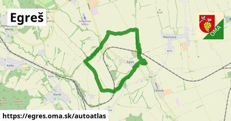 ikona Mapa autoatlas  egres