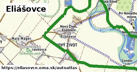 ikona Mapa autoatlas  eliasovce