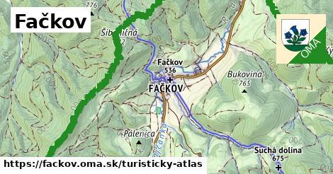 ikona Turistická mapa turisticky-atlas  fackov