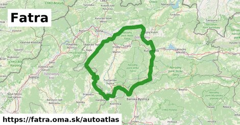 ikona Mapa autoatlas  fatra