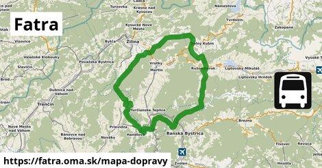 ikona Mapa dopravy mapa-dopravy  fatra