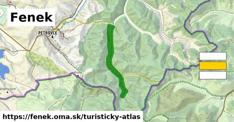 ikona Turistická mapa turisticky-atlas  fenek