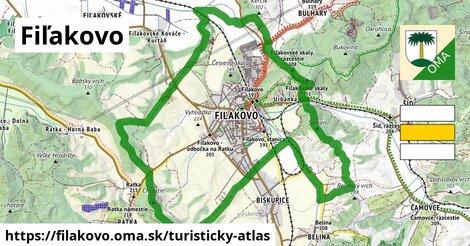 ikona Turistická mapa turisticky-atlas  filakovo