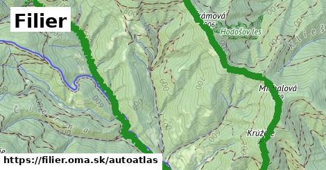 ikona Mapa autoatlas  filier