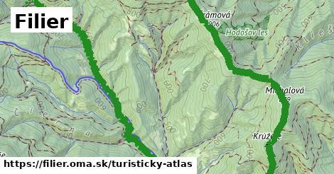 ikona Filier: 3,6km trás turisticky-atlas  filier