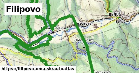 ikona Mapa autoatlas  filipovo