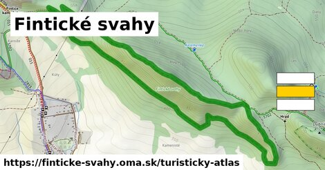 ikona Turistická mapa turisticky-atlas  finticke-svahy