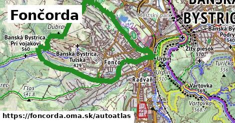 ikona Mapa autoatlas  foncorda