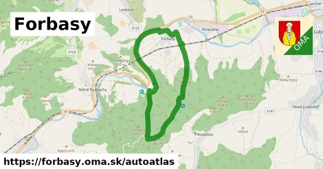 ikona Mapa autoatlas  forbasy
