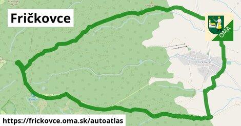 ikona Mapa autoatlas  frickovce