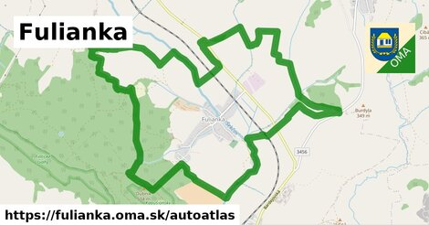 ikona Mapa autoatlas  fulianka
