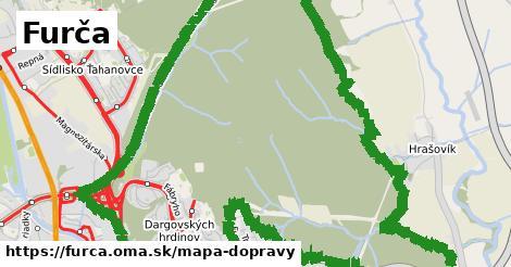 ikona Mapa dopravy mapa-dopravy  furca