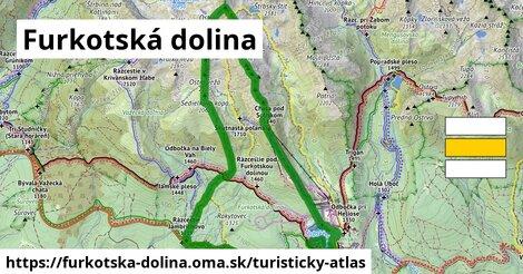 ikona Turistická mapa turisticky-atlas  furkotska-dolina