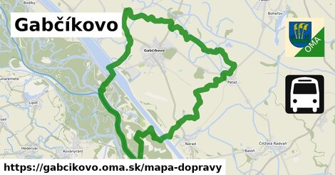ikona Mapa dopravy mapa-dopravy  gabcikovo