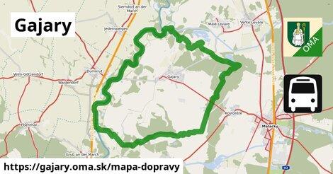 ikona Mapa dopravy mapa-dopravy  gajary