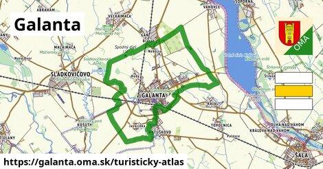 ikona Turistická mapa turisticky-atlas  galanta