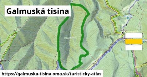 ikona Turistická mapa turisticky-atlas  galmuska-tisina