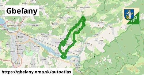 ikona Mapa autoatlas  gbelany