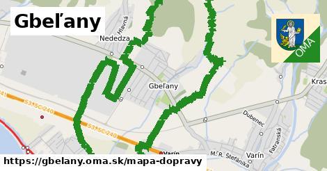 ikona Mapa dopravy mapa-dopravy v gbelany