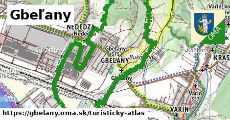 ikona Turistická mapa turisticky-atlas v gbelany