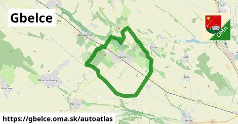 ikona Mapa autoatlas  gbelce