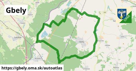 ikona Mapa autoatlas  gbely