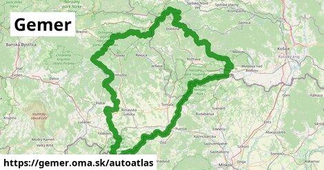 ikona Mapa autoatlas  gemer