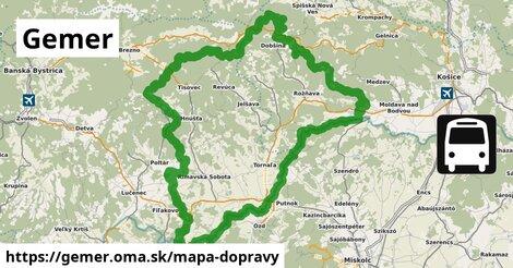 ikona Mapa dopravy mapa-dopravy  gemer