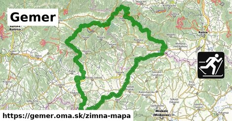 ikona Zimná mapa zimna-mapa  gemer