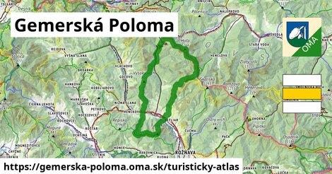 ikona Turistická mapa turisticky-atlas  gemerska-poloma