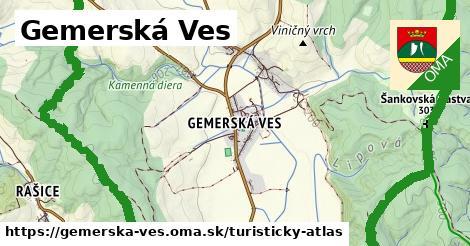 ikona Turistická mapa turisticky-atlas  gemerska-ves