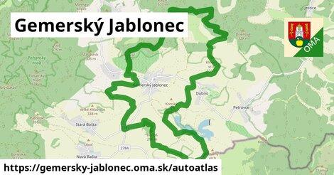 ikona Mapa autoatlas  gemersky-jablonec