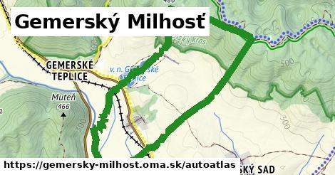 ikona Mapa autoatlas  gemersky-milhost