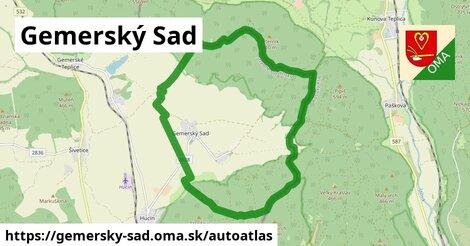 ikona Mapa autoatlas  gemersky-sad