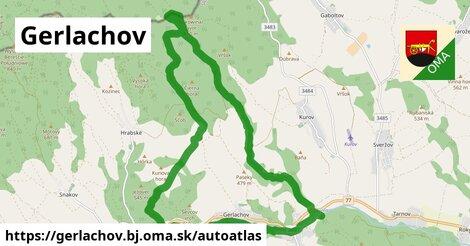 ikona Mapa autoatlas  gerlachov.bj