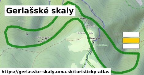 ikona Turistická mapa turisticky-atlas  gerlasske-skaly