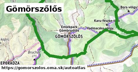 ikona Mapa autoatlas  gomorszolos