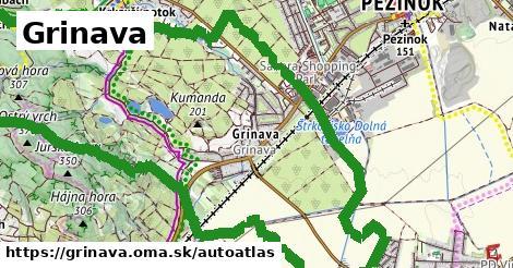 ikona Mapa autoatlas  grinava