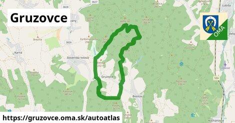 ikona Mapa autoatlas  gruzovce