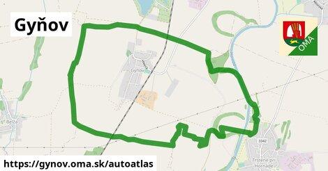 ikona Mapa autoatlas  gynov