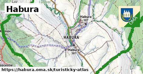 ikona Habura: 16km trás turisticky-atlas  habura