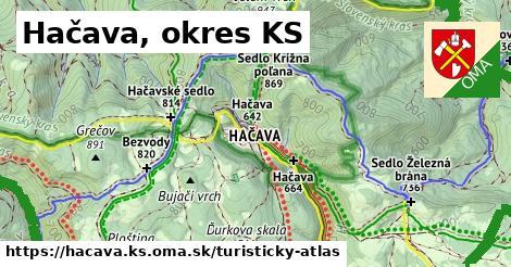 ikona Turistická mapa turisticky-atlas  hacava.ks